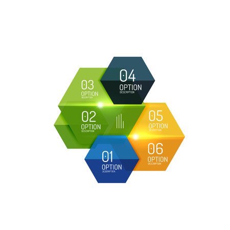 background next: Infographic modern templates - geometric shapes. For banners, business backgrounds, presenations