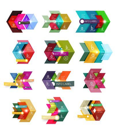 contextual: Business infographics templates