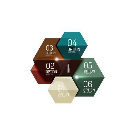 preventive: Business infographic design template