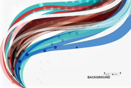 Flowing abstract background