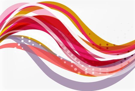 Flowing abstract background. Vector template background for workflow layout, diagram, number options or web design