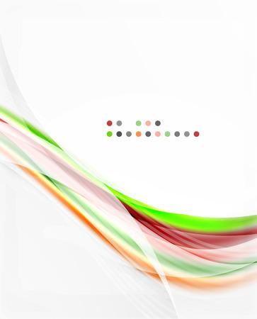 shiny background: Vector shiny wave abstract background Illustration