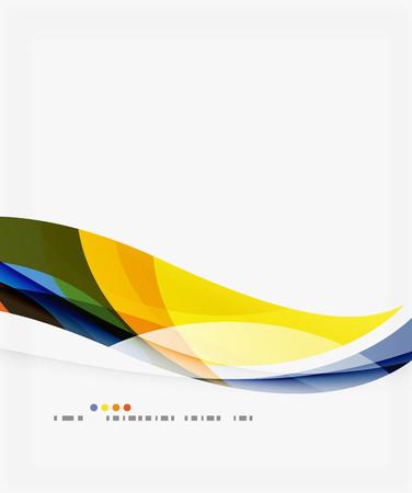 Smooth elegant wave