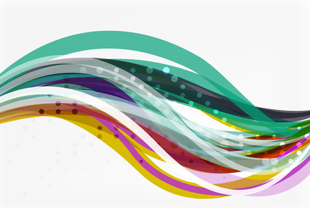 squiggle: Flowing abstract background