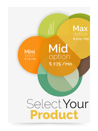 Option select infographic banner