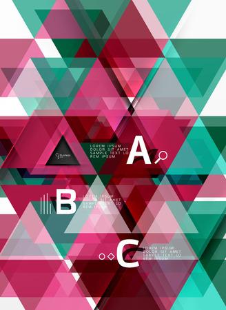 forme: Vecteur forme géométrique fond