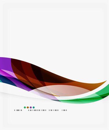curve creative: Modern creative curve background with copy space