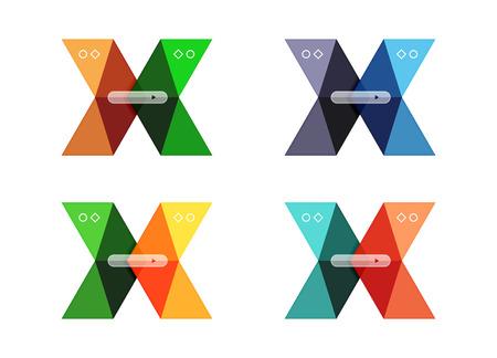 www: Vector arrow infographics business templates set