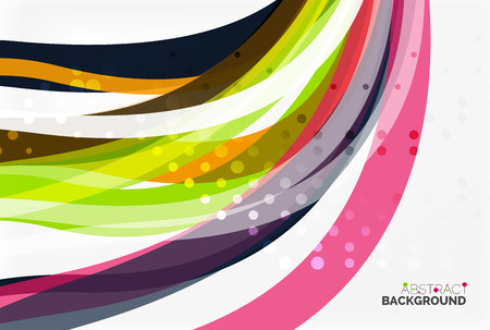 Colorful stripes on light background. Vector template background for workflow layout, diagram, number options or web design