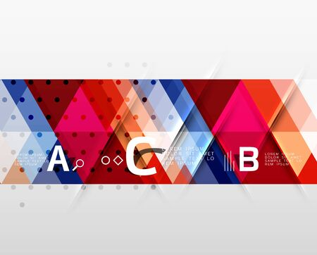 minimalistic: Vector minimalistic triangle design