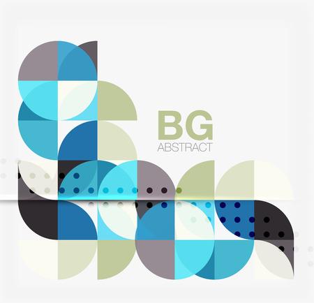 circl: Vector circle abstract background