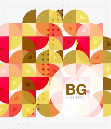 ellipse: Modern elegant geometric circles abstract background
