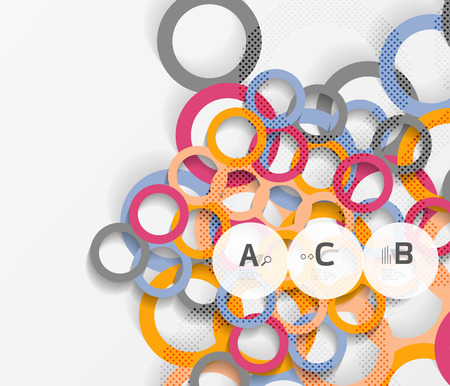 рефераты Фотографии картинки изображения и сток фотография без  color rings shadows on gray abstract background vector template background for print workflow layout