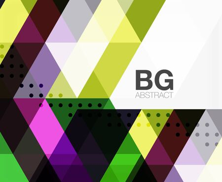 Modern geometry background. Vector template background for workflow layout, diagram, number options or web design