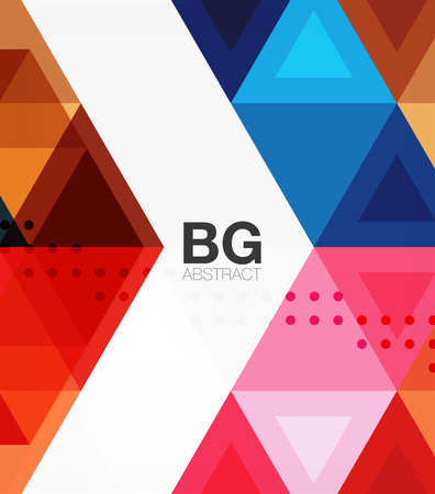 Modern geometry background