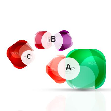 refracted: Vector abstract gem stones