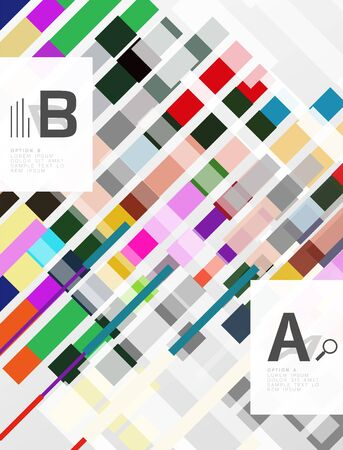 textur: Abstract lines vector geometrical modern background Illustration