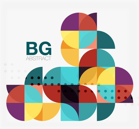 circl: Vector circle abstract background. Vector template background for workflow layout, diagram, number options or web design