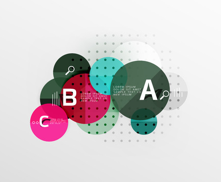 circl: Vector circle banner Illustration