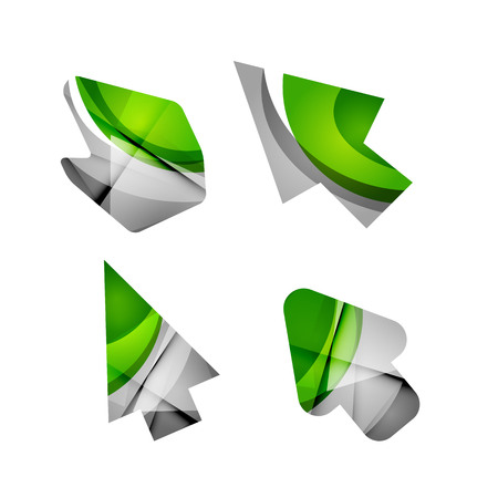 Vector Icon, arrow mouse pointer or directional symbol Illustration