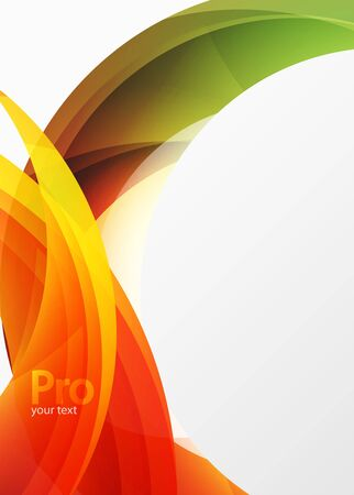white wave: Futuristic hi-tech glass wave abstract background. Color curvy line with glossy effect