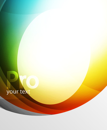 Abstract background, swirl wave line template. Vector layout template for your message or presentation wallpaper