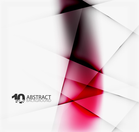 distortion: Hi-tech or business futuristic blurred template, blurred colors with shadow Illustration