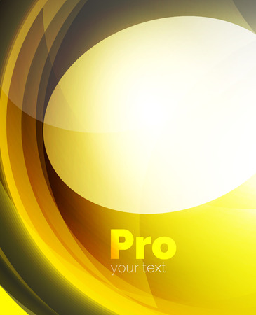 wave hello: Shiny wave, glass futuristic hi-tech design. Vector abstract background for your text message, photo inside or presentation wallpaper