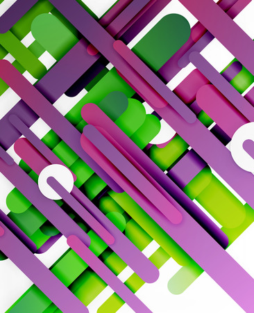 lineas rectas: Cut 3d paper color straight lines abstract background