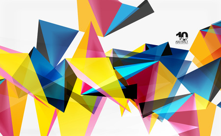 3d triangles geometric vector