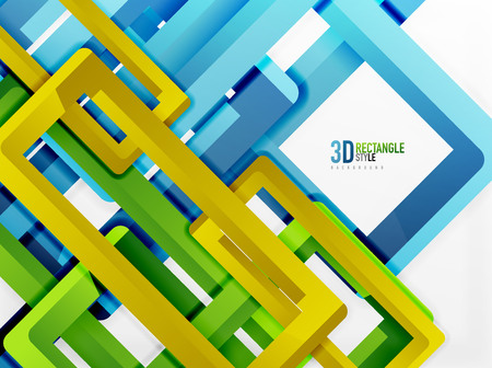 sewerage: Rectangle tube elements, vector background