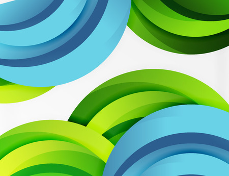 billowy: 3D wave lines design. Dynamic effect abstract vector Illustration, modern pattern template