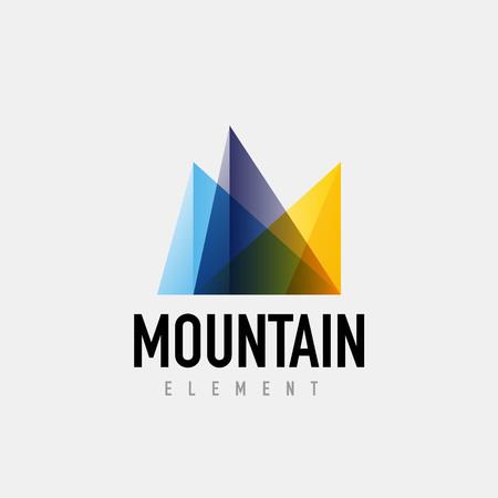 quirky: Mountain geometric design