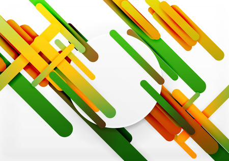 hitech: Cut 3d paper color straight lines abstract background