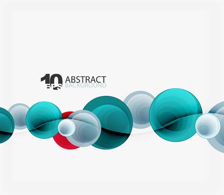 standout: Circle vector background