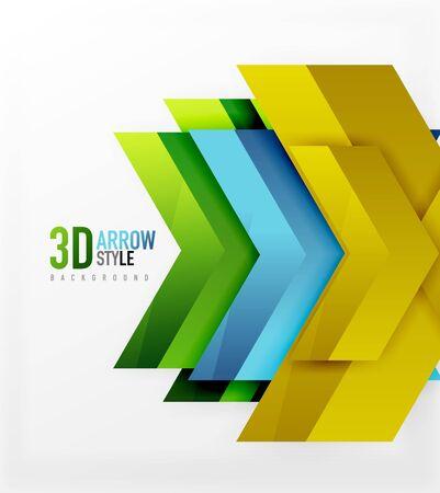 angular: Techno arrow background