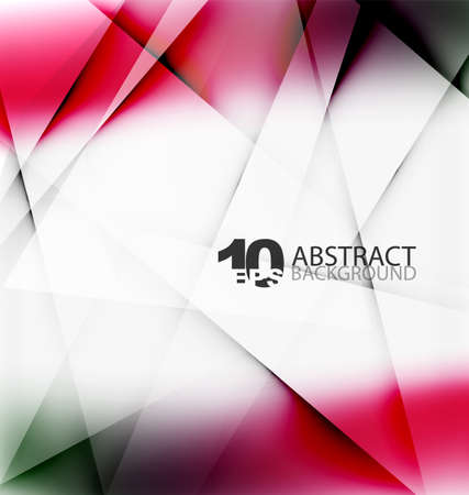catalog: Hi-tech or business futuristic blurred template, blurred colors with shadow Illustration