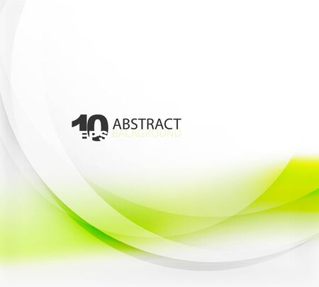 smooth background: Smooth wave template. Abstract background - vector eps10 illustration