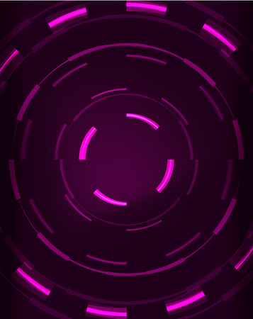placeholder: Neon circles abstract background Illustration