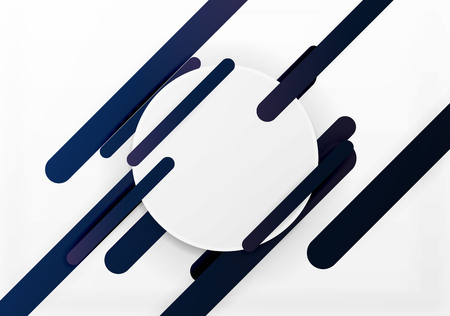 cut paper: Cut 3d paper color straight lines vector abstract background Illustration