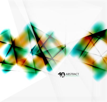 catalog: Hi-tech or business futuristic blurred template