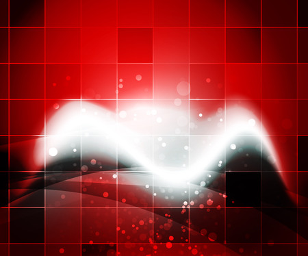 smooth background: Shiny wave, magicabstract background Illustration