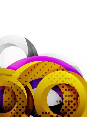 smooth background: Circle background design Illustration