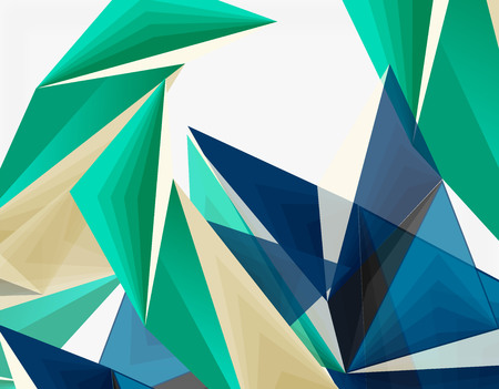 mesh: 3d modern triangle low poly abstract geometric vector