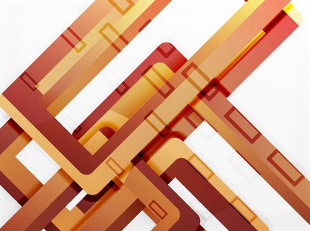 sewage: Rectangle tube elements.
