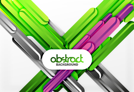 Straight lines vector abstract background