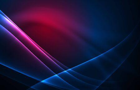 Vector polar Lichter Konzept Hintergrund Standard-Bild - 81313503
