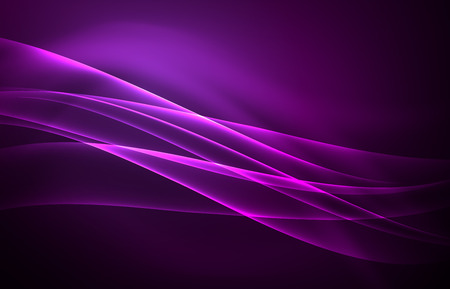 astral: Vector polar lights concept background Illustration