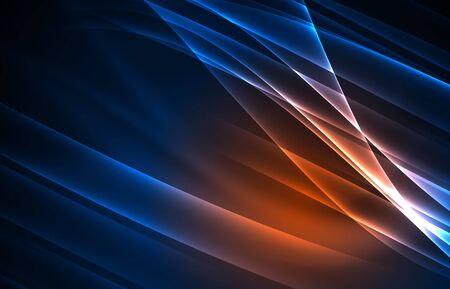 northern light: Vector polar lights concept background Stock Photo