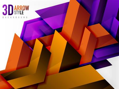 array: Techno arrow background